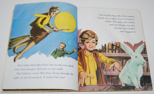 Little golden book bedknobs & broomsticks 3
