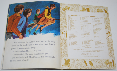 Little golden book bedknobs & broomsticks 7