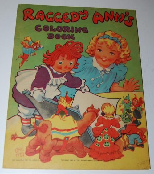 Raggedy ann's coloring book