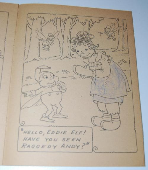 Raggedy ann's coloring book 4