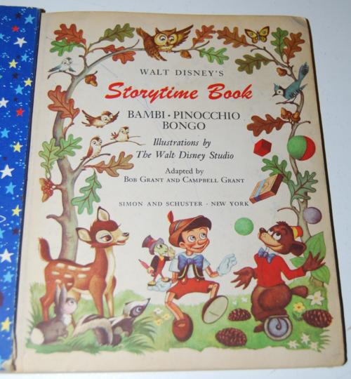 Walt disney storytime giant little golden book 1