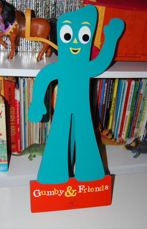 Gumby easel