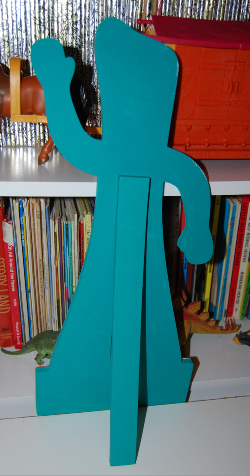 Gumby easel x