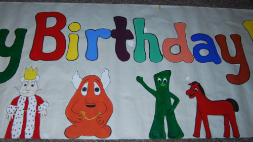 Gumby happy birthday 1