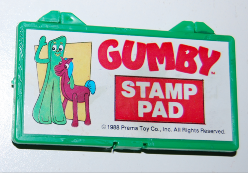 Gumby stamp pad set 2