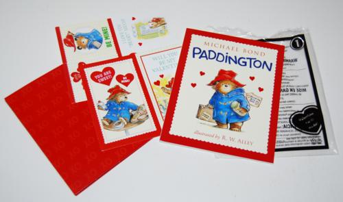 Happy meal paddington book valentines
