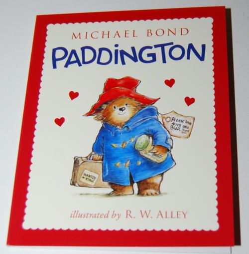Happy meal paddington book valentines 6