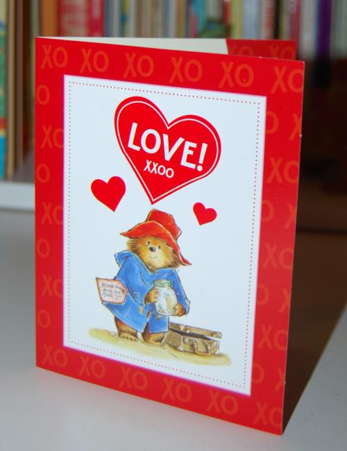 Happy meal paddington book valentines 3