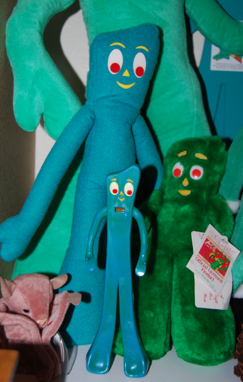 Gumby led watch