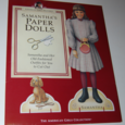 American girls paper doll samantha