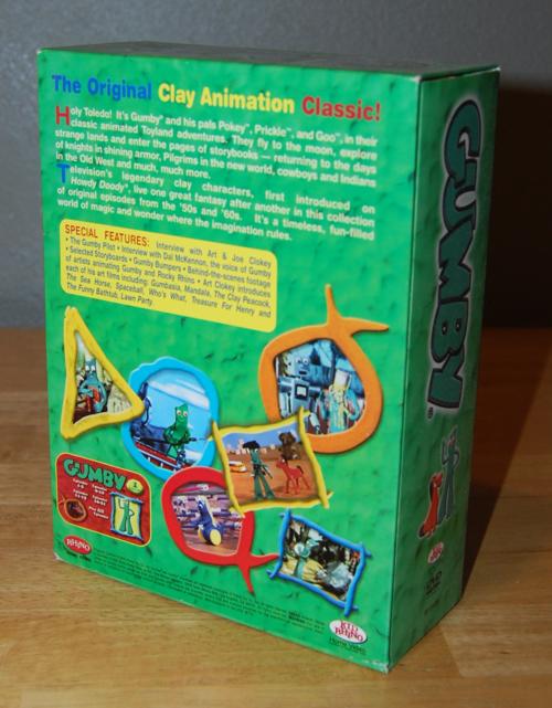 Gumby dvd set 1