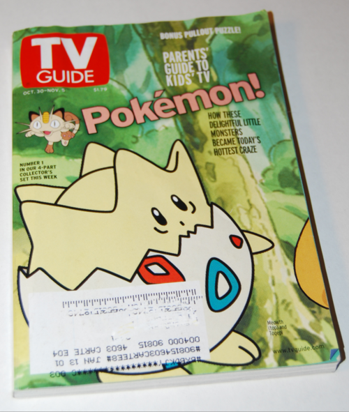 Pokemon tv guide