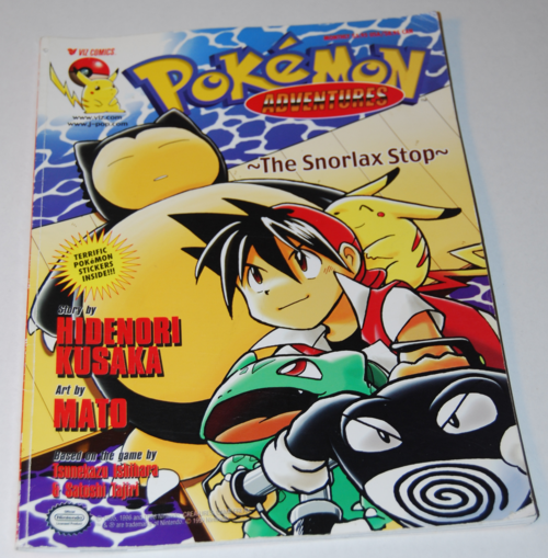 Pokemon adventures book