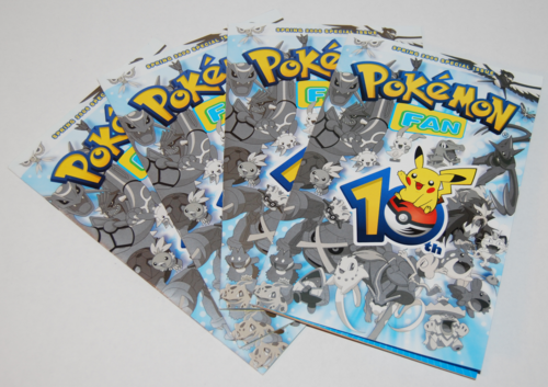 Pokemon 10th anniversary fan book