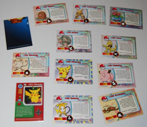 Pokemon cards topps 2