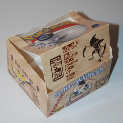 Pokemon fossil box