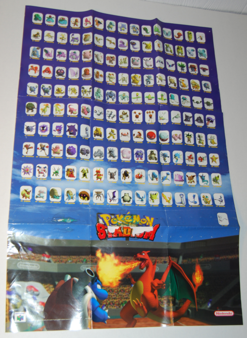 Pokemon stadium poster