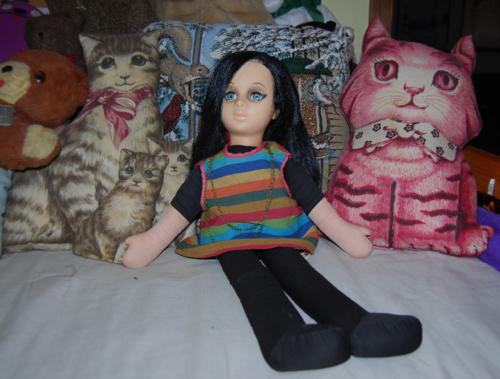 Vintage plush toys