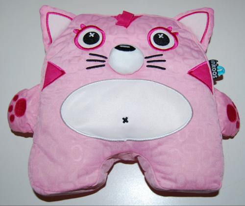 Inkoos pink cat plush toy
