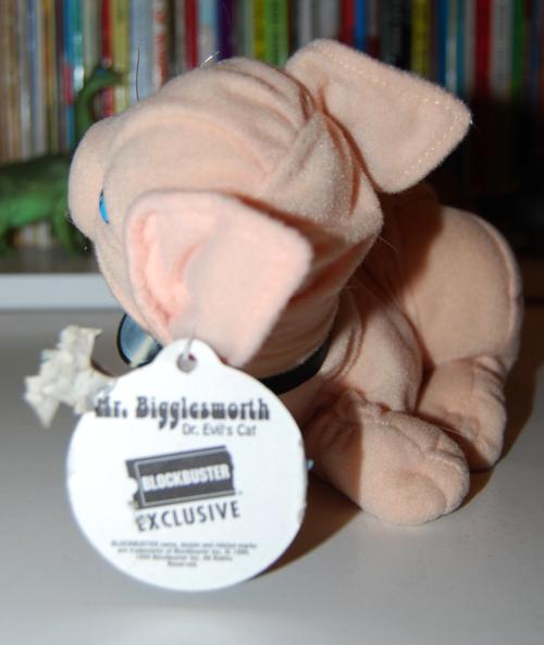 Mr bigglesworth toy 2