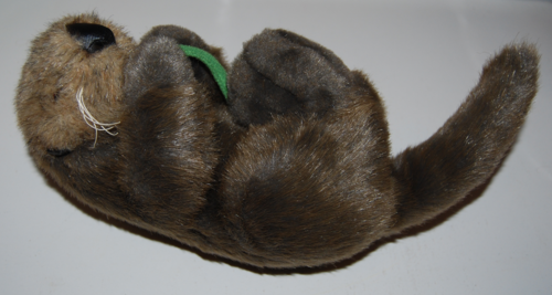 Otter plush toy 1