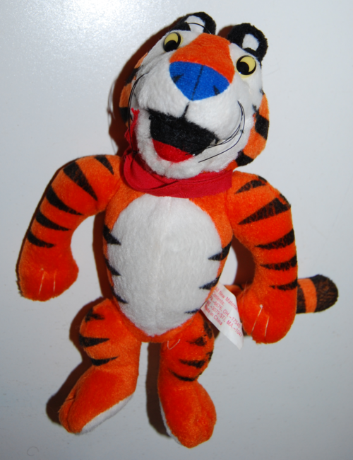 Tony the tiger plush