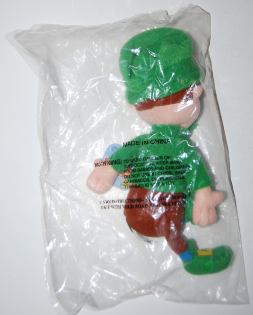 Lucky leprechaun plush toy x