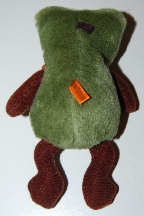 Petit loup frog toy x