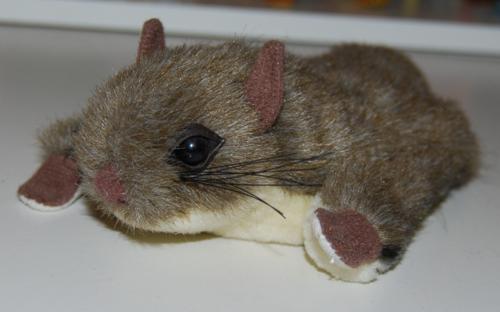 Smithsonian's backyard chipmunk plush toy