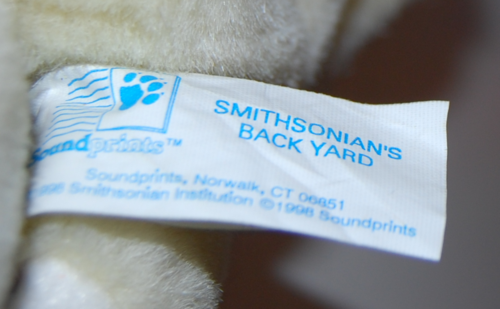 Smithsonian's backyard chipmunk plush toy x