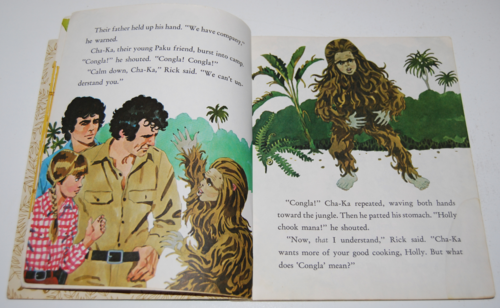 Land of the lost little golden book 3