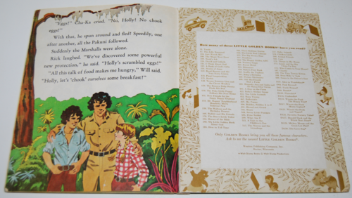 Land of the lost little golden book 9