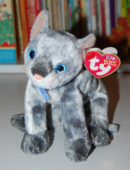 054f064b775 ty beanie baby kitties - lost   found vintage toys