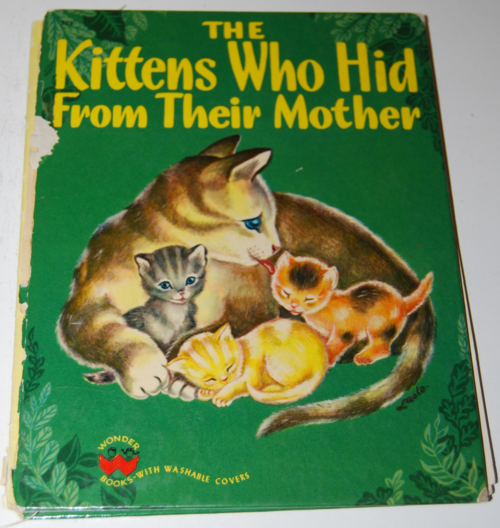 The kittens who hid from their mother
