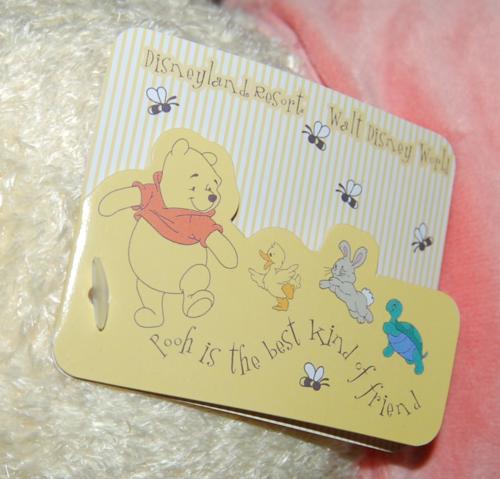 Disney pooh toy tag