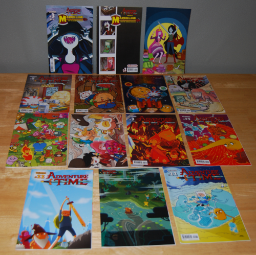 Adventure time comic books