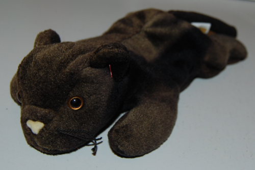 Ty beanie baby kitty panther