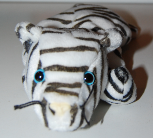 Ty beanie baby kitty white tiger