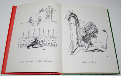 Andersen's fairy tales johnny crows garden3