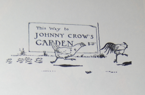 Andersen's fairy tales johnny crows garden x