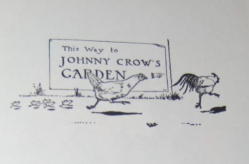 Andersen's fairy tales johnny crows garden x