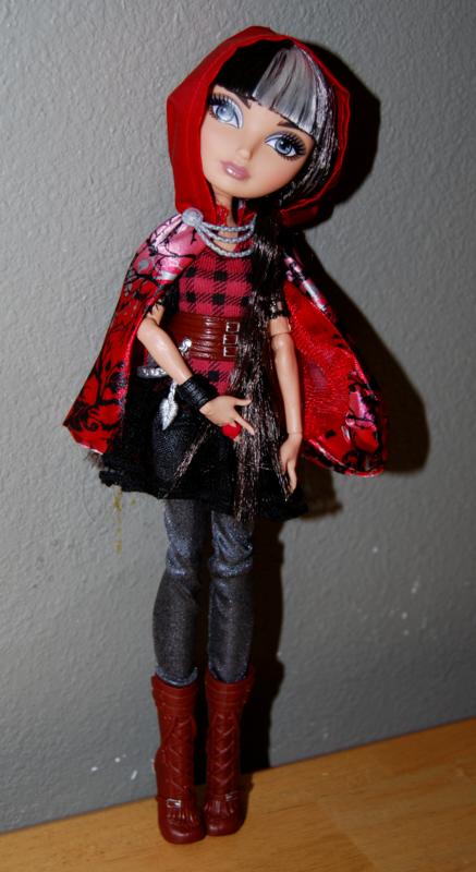 Ever after doll cerise hood 5