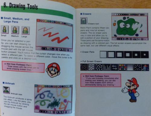 Mario paint snes 3