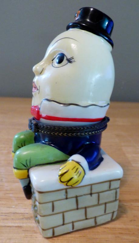 Humpty dumpty ceramic box 2