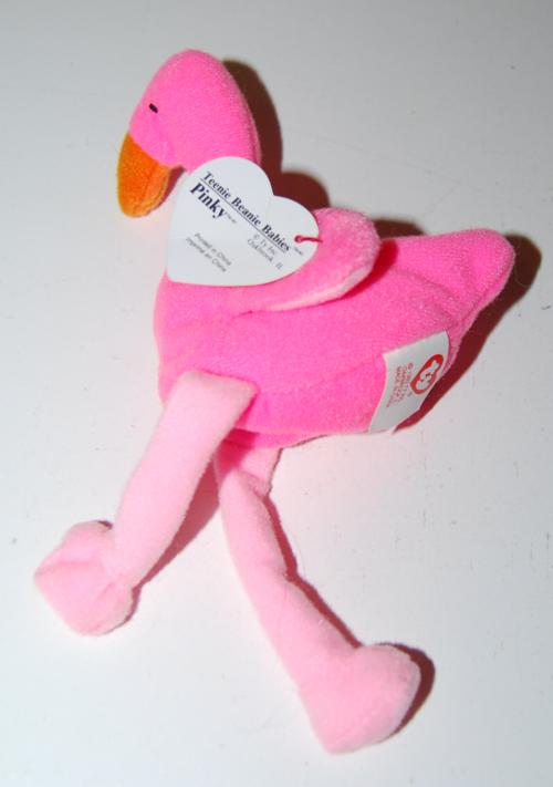 Teenie beanie baby pinky x