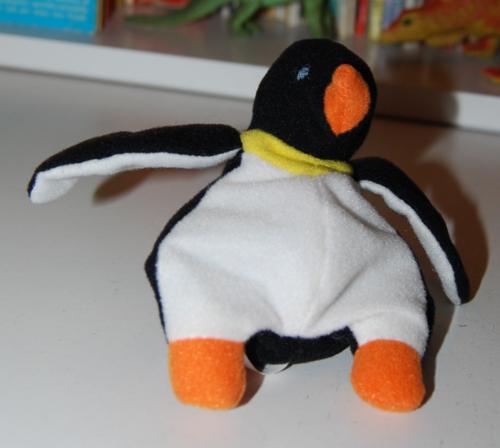Ty teenie beanie baby penguin