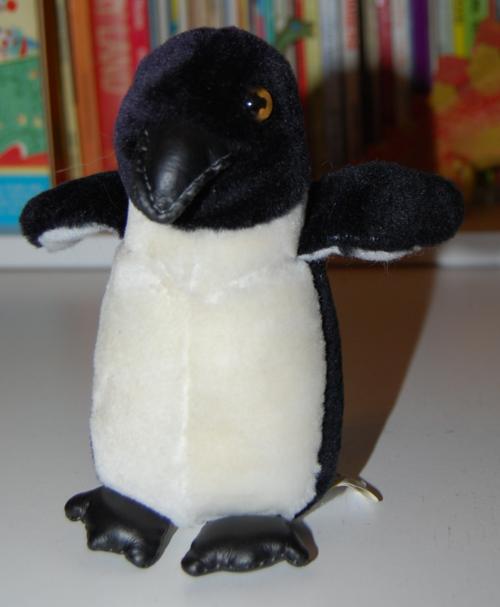 Namco penguin plush