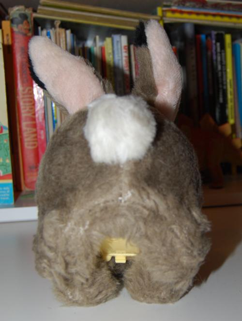 Hopping rabbit plush toy 2