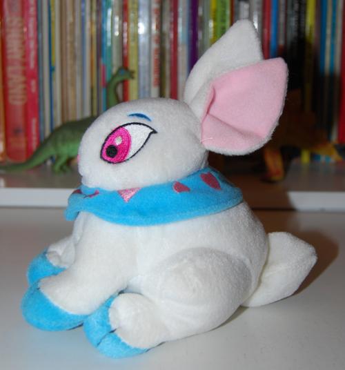 Neopets white rabbit plush toy