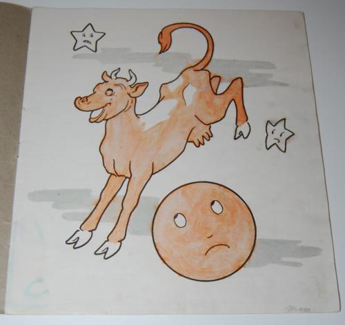 Storyland pictures saalfield paint book 1